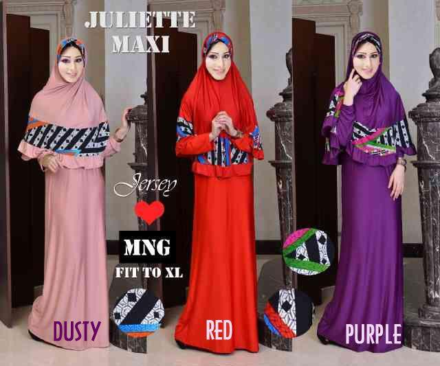 Baju Gamis Set Juliette Y43 Online dan Murah - http://www.butikjingga.com/baju-gamis-set-juliette-y43