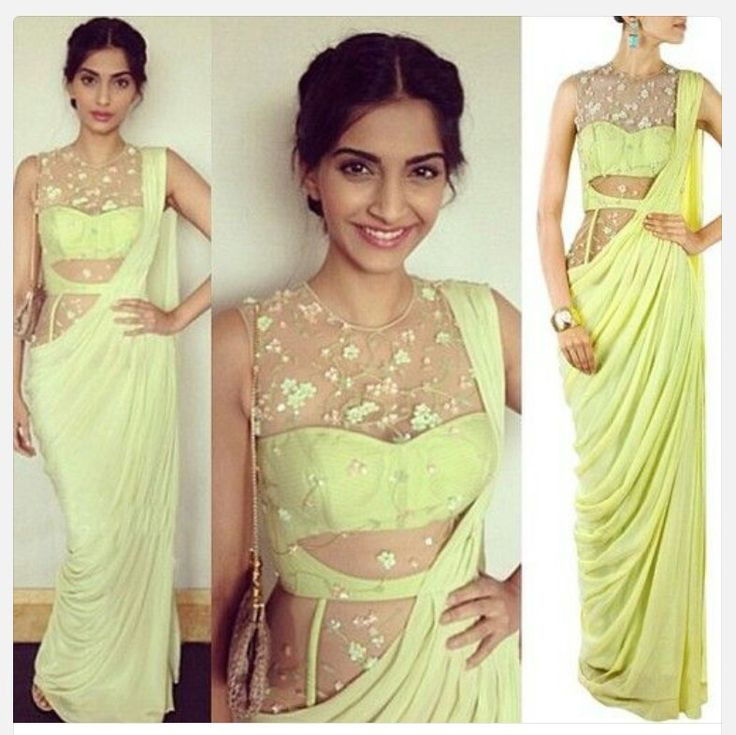 Designer saree gown  Made to order in any colour you like  Price on request  Visit us at http://www.womensworld.ws/product-category/made-to-order/deisgner-sarees/  for more details  #fashion #love #style #sarees #sari #sareegown #womensworld140