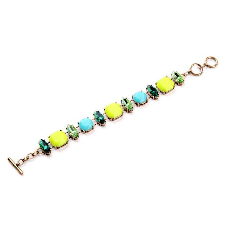 Ярко цвет сельский стиль многоцветный геометрический браслеты для женщиныкупить в магазине ShiJie Jewelry FactoryнаAliExpress