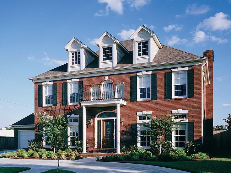 77 Best Colonial House Plans Images On Pinterest