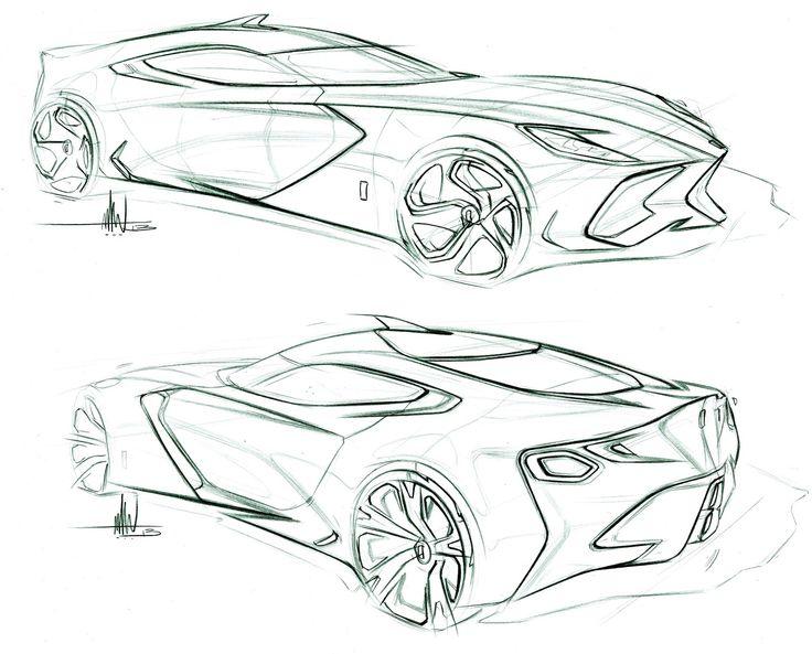 направлений как дизайнеры рисуют эскизы спорткаров фото триколор официальный