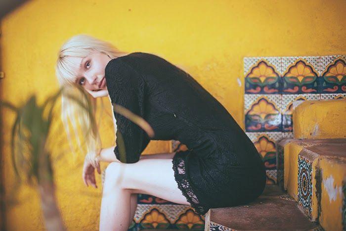 Amilita the label: Paved Paradise SS14 | Photography: Carly Brown @ carlybrown.com; Model: Ariel Beesley @ Wilhelmina; Makeup: Harper@ Wilhelmina | summer | mexico | bohemian | gypset | free spirit | black lace