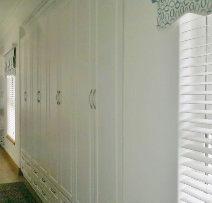 White Duco Linen Cupboard