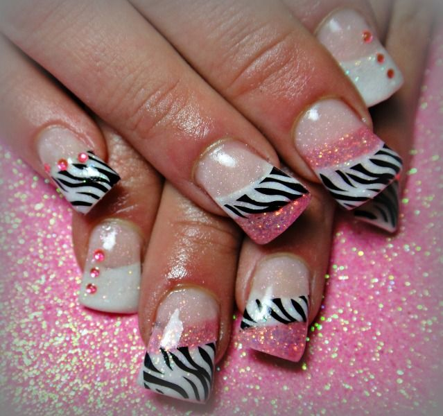 Pink zebra. :)...Loving the idea but I'd have to change it up just a bit