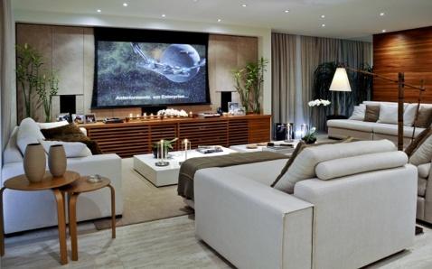 tv room  Estantes e Divisórias  Pinterest  TVs, Tv consoles and ...