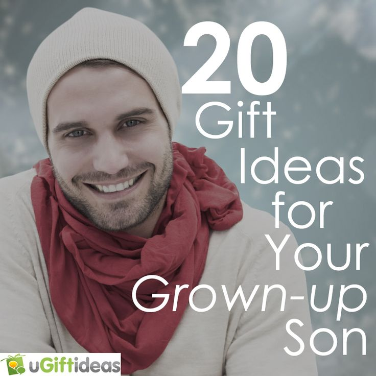 20 Gifts for Adult Sons | Gifts for Your Grown-Up Son ...