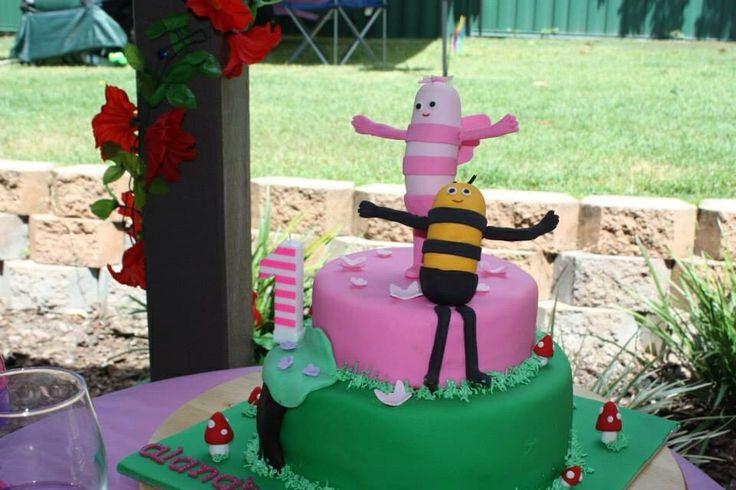 Didi & B theme cake