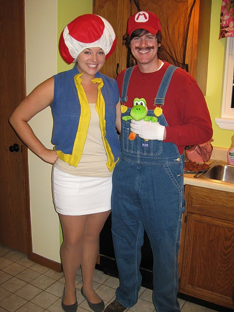 Mario And Toad Costumes