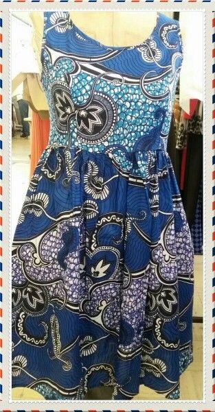 Sleeveless African Dress #32_Flavors