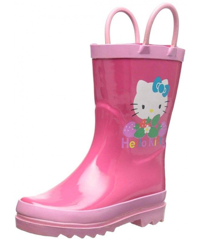 Kids Wellies Waterproof Rain Boots Water Shoes Wellingtons Anti-Slip Toddler