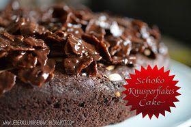 Schoko-Knusperflakes-Kuchen