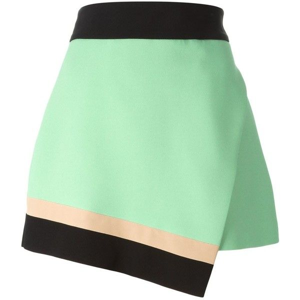 Fausto Puglisi Asymmetric Skirt ($302) ❤ liked on Polyvore