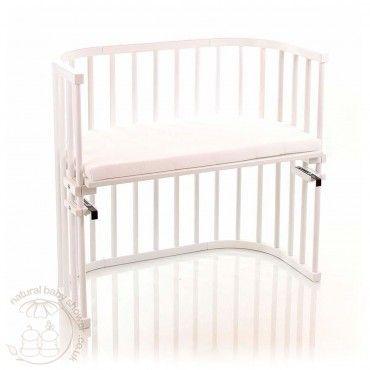 BabyBay Co-Sleeping Cot - Whit