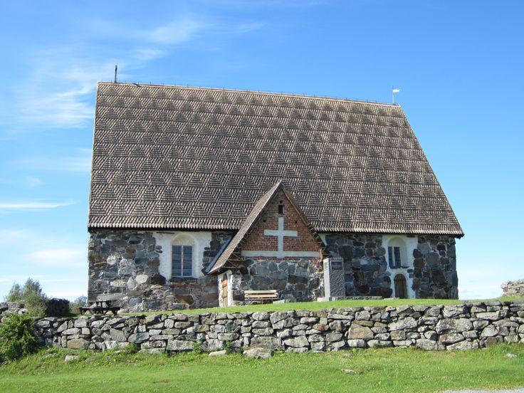 Tyrvään Pyhän Olavin kirkko paikassa Vammala, Länsi-Suomen Lääni