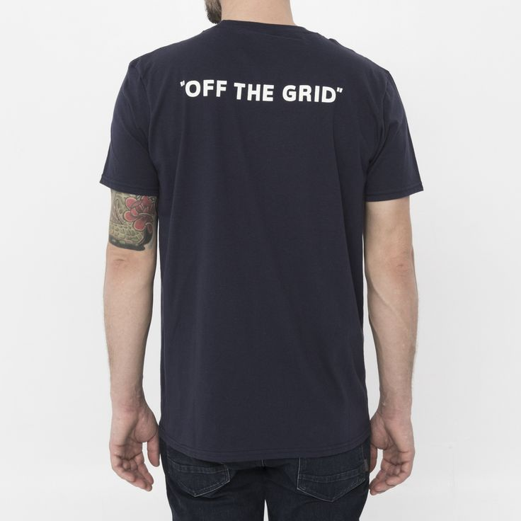 Off The Grid Vanlife Pocket Tee - By Nomad Design – Go-Van