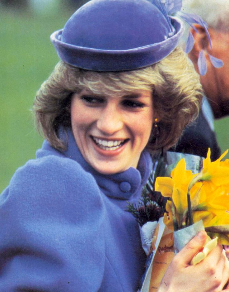 March 9, 1984: Princess Diana during her visit to the Sue Ryder Home For Cancer Sufferers in Leckhampton, Cheltenham, Gloucestershire.