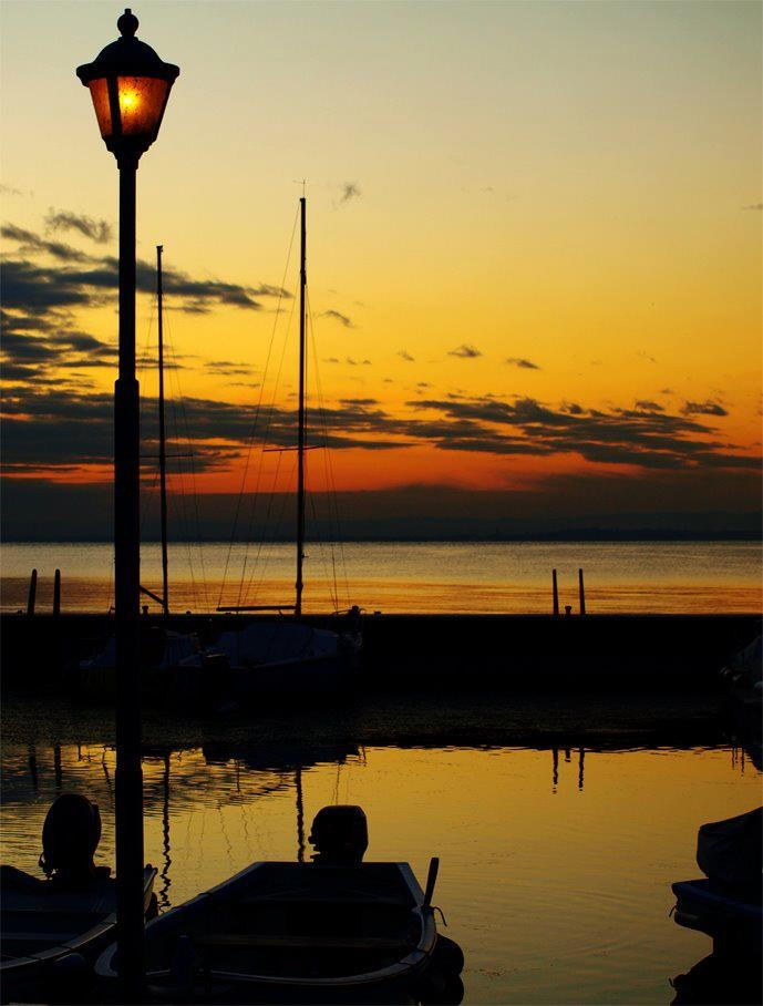 Sunset in Lazise