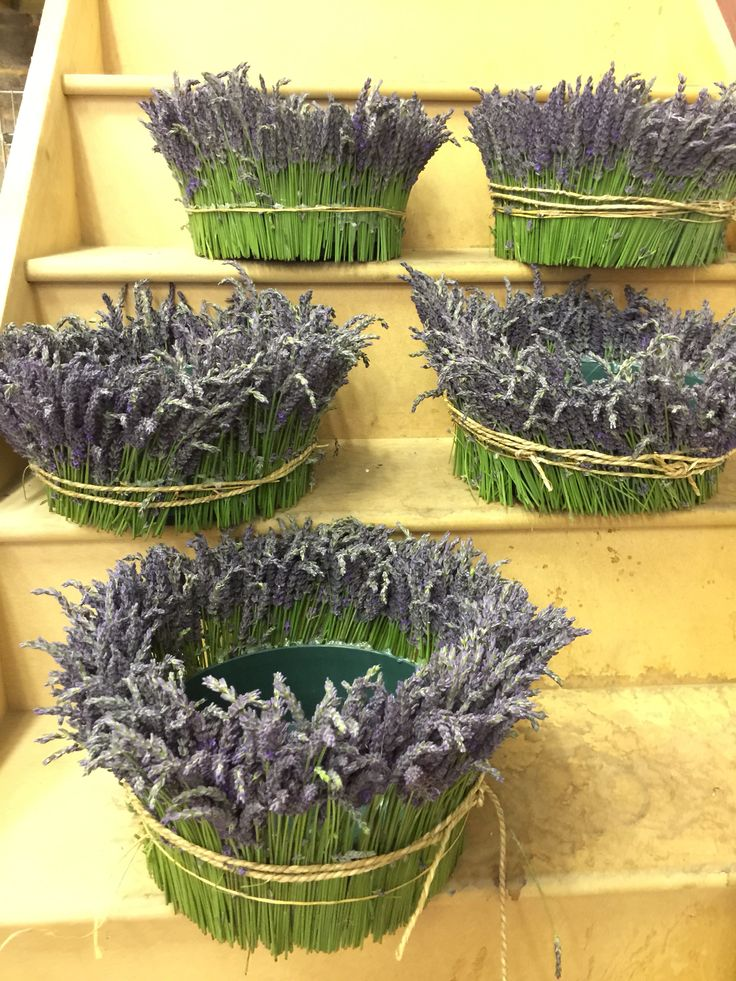 Lavender containers for a wedding #summer #event #party
