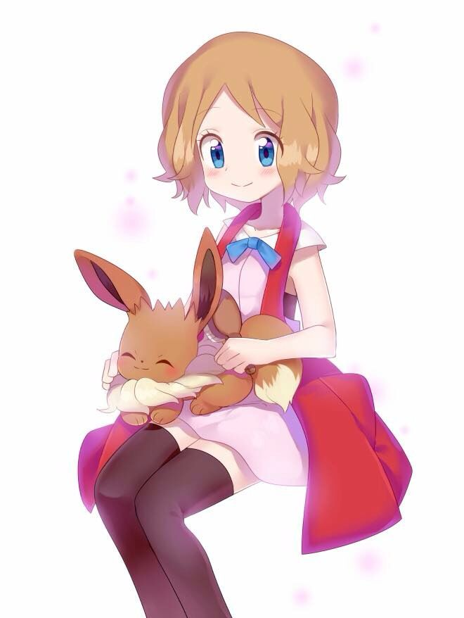 Serena Pokemon Pkm Gijinka Pinterest
