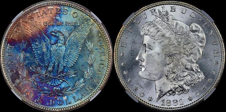 1881-S Morgan Dollar NGC MS-66 *  -$1,018 - www.brokencc.com: Ngc Ms66