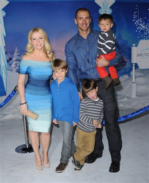 "Melissa Joan HartMelissa Joan Hart and her hubby Mark Wilkerson can't get enough of their three boys Mason, Brady and baby Tucker. But does she want more? ""Yes, we'd like to have more kids, but we have our hands full right now,"" she told OK! magazine.Like us on Facebook?"