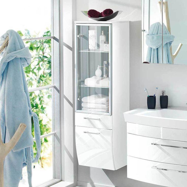 Die besten 25+ Badezimmer hochschrank Ideen auf Pinterest Ikea - badezimmer hochschrank 40 cm breit