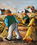 A cape farming scene by beloved south african artist Bea Wolfaardt http://thedoddsgallery.co.za/artists/Bea%20Wolfaardt.html