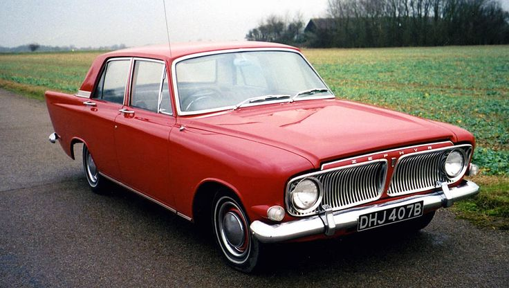 1964 Ford Zephyr 6. Just check out those huge fins ... not to mention the masses of chrome