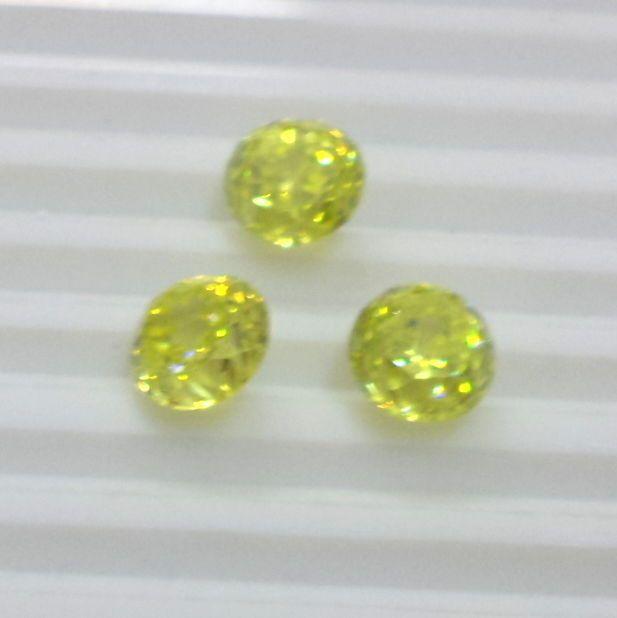 34.00 Cts 3 Pcs Loose Zircon Loose Gemstone Fine Round Cut Size 11 MM S1008