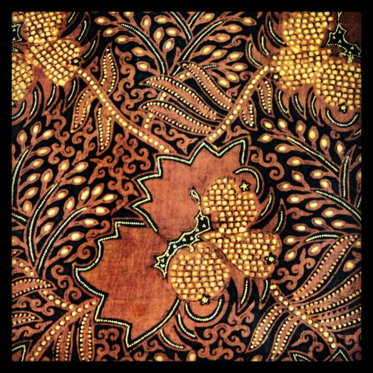Batik from Yogyakarta, Central Java, Indonesia