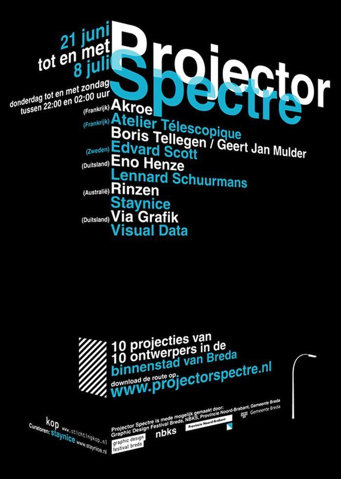 staynice 3 Inspiración: 26 posters tipográficos creativos