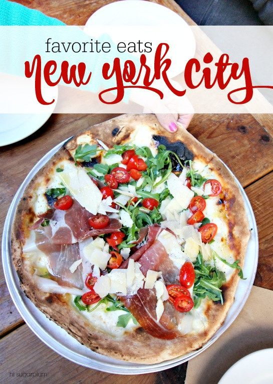 Hi Sugarplum!: NYC Eats