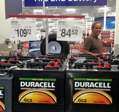Cheap golf cart batteries - do they save you money?