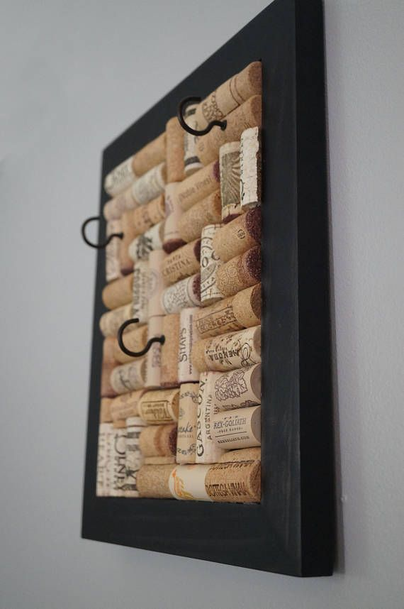 Available for purchase Wine Cork Jewelry Holder Jewelry Organizer