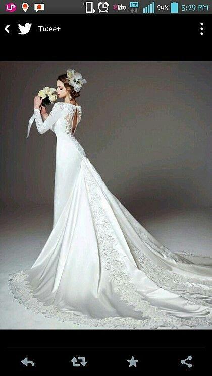 레이스 드레스