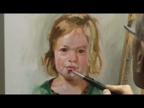 Learn how to paint a portrait, portrait painting demo by ben lustenhouwer - http://www.thehowto.info/learn-how-to-paint-a-portrait-portrait-painting-demo-by-ben-lustenhouwer/