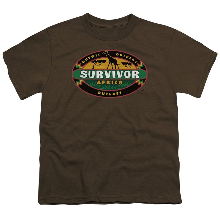 Survivor/Africa Short Sleeve Youth 18/1 in Coffee