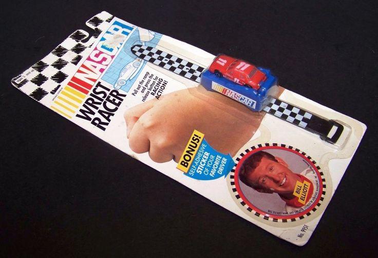 Nascar Wrist Racer #11 Goodyear Bill Elliot Vintage Toy 1992 Sticker 9951 #FunFirstToys #Unknown