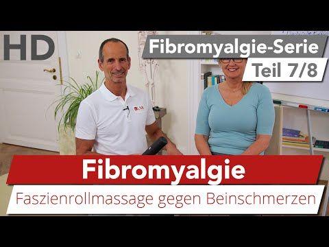 Fibromyalgie // Übung gegen schmerzende Füße, Faszienrollmassage - YouTube