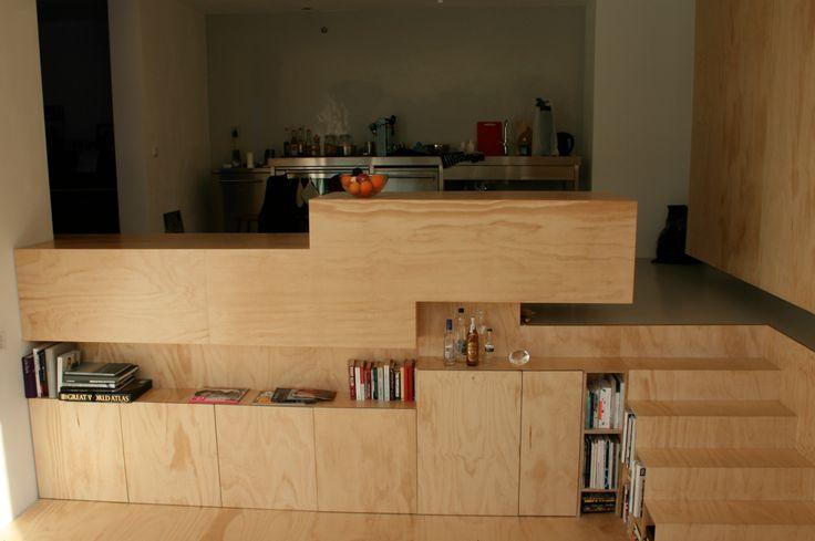 Plywood / underlayment interior
