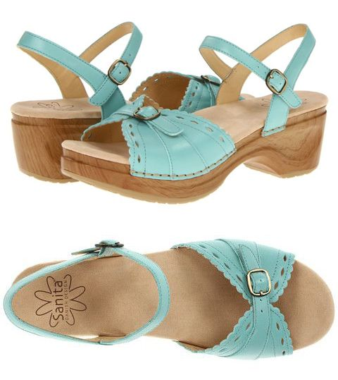 Mint Sanitas Dawn Sandals / Wedges