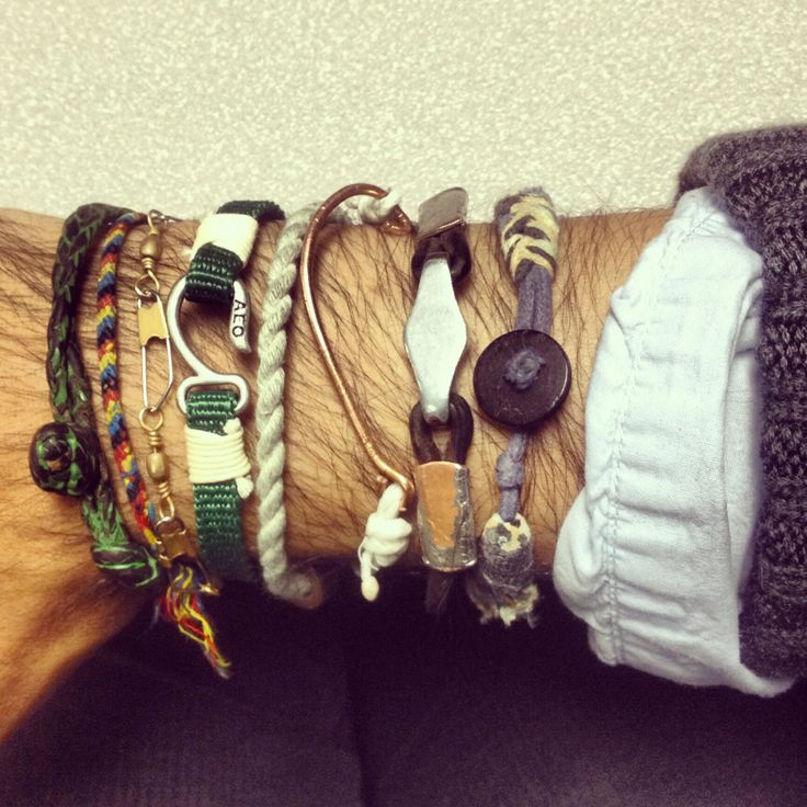 It's a party! A wrist party! Can you guess which 3 I've made?