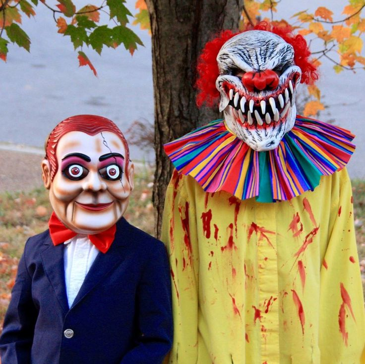 "Goosebumps ""Slappy"" and Scary Clown Costume"