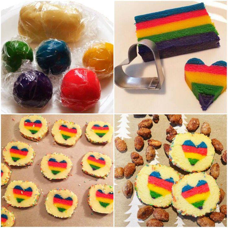 Pinterest Regenbogen Herzkekse Tutorial: Ein Praxistest - Pinspiration