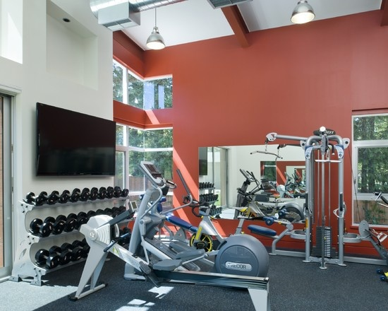 Paint color ideas for home gym painting design
