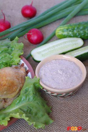 Ореховый соус для курицы     тёплая кипячённая вода — 1,5-2 стакана     очищенные грецкие орехи — 1,5 стакана     лимон — 1/2 шт     чеснок — 4-5 зубочков     соль — по вкусу