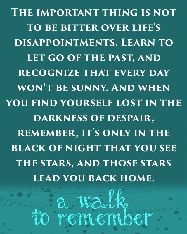 A Walk to Remember Movie Quote Freebie