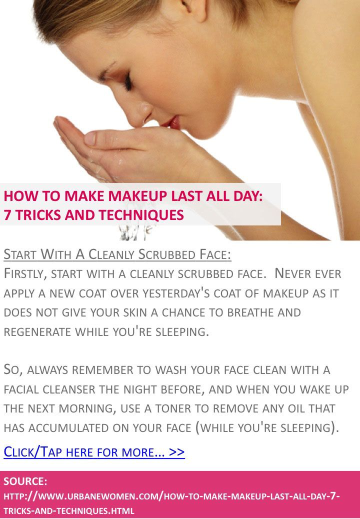 How To Make Makeup Last All Day 7 Tricks And Techniques Start Wi Anti Aging Secrets