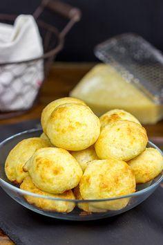 Brazilian Cheese Bread (Pão de Queijo) is surprisingly easy to make...and incredibly delicious!