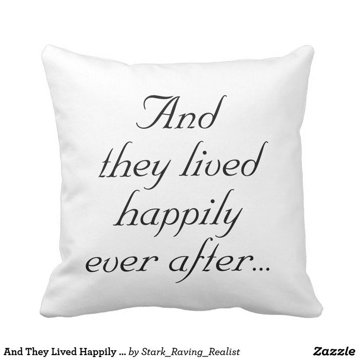 and they lived happily ever after - 736×736
